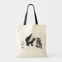 Skunk <3s Boot Tote