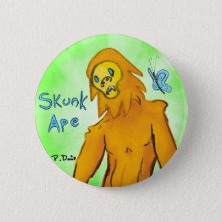 Skunk Ape Button