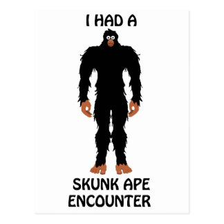 SKUNK APE POSTCARD