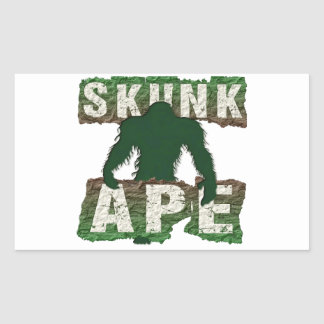 SKUNK APE RECTANGULAR STICKER