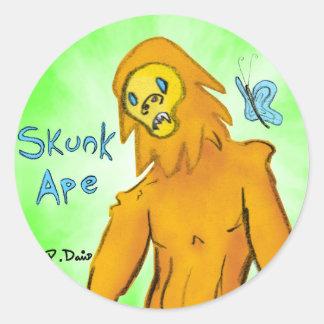 Skunk Ape Sticker