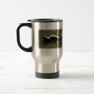 Skunk Behavior Travel Mug