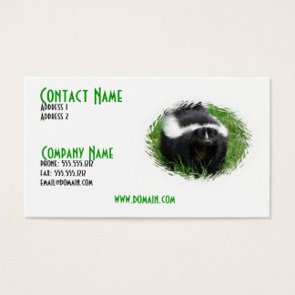 Skunk Business Card