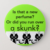 Skunk Button