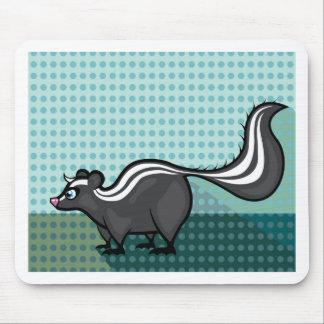 Skunk Cartoon vector Mouse Pad