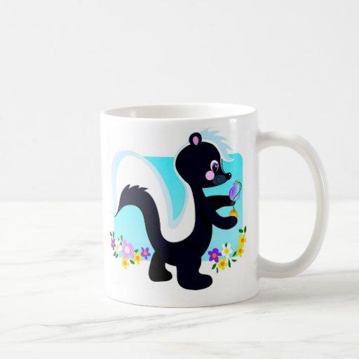 Skunk Classic White Coffee Mug