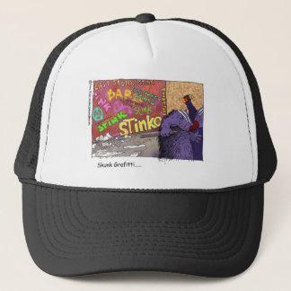 Skunk Graffiti Funny Cartoon Gifts & Tee Trucker Hat