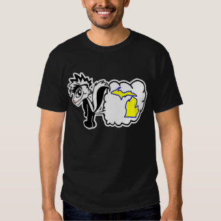 Skunk hates Michigan State Shirt. Shirt