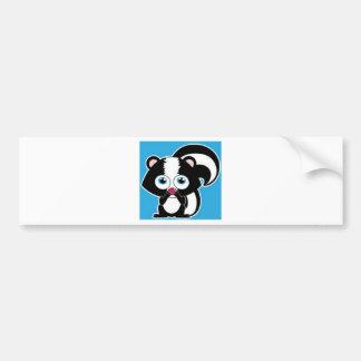 skunk jpg pegatina de parachoque