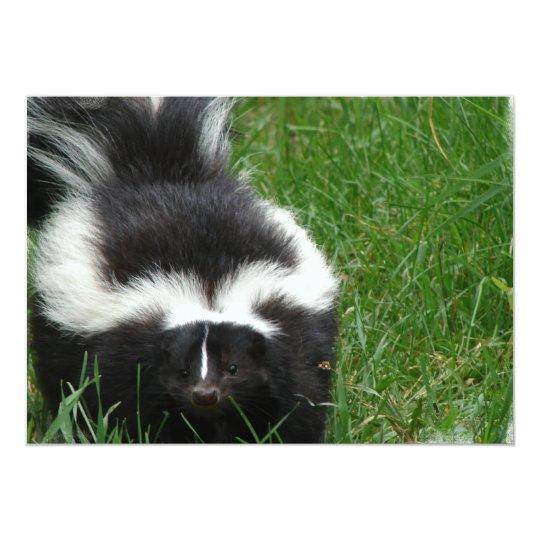Skunk on an Invitation