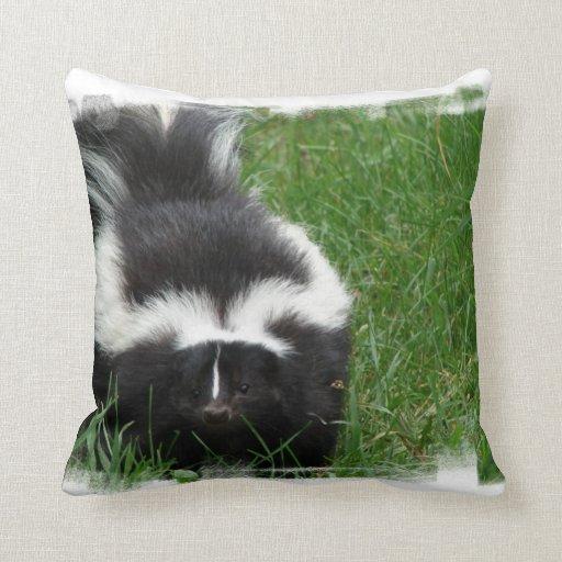 Skunk Pillow