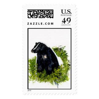 Skunk Postage stamp