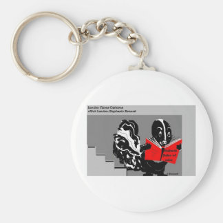 Skunk Rules Of Odor Funny Gifts & Collectibles Basic Round Button Keychain