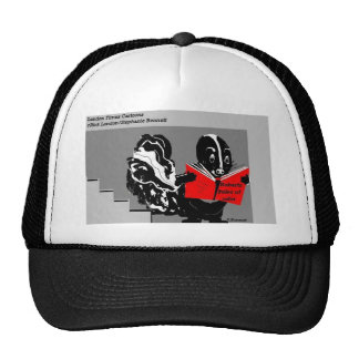 Skunk Rules Of Odor Funny Gifts & Collectibles Trucker Hat