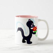 Skunk Two-Tone Coffee Mug