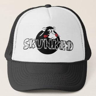 Skunked Skunk Trucker Hat