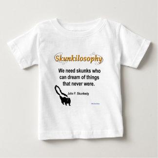Skunkilosophy: Never Were Baby T-Shirt