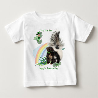 "Skunks, Leprechauns and the ""Luck Of The Irish"" Baby T-Shirt"