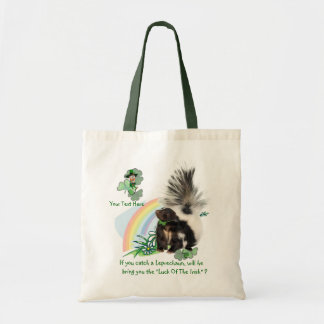 "Skunks, Leprechauns and the ""Luck Of The Irish"" Tote Bag"
