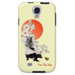 Skunks Need Time To Smell Flowers Too! Galaxy S4 Case