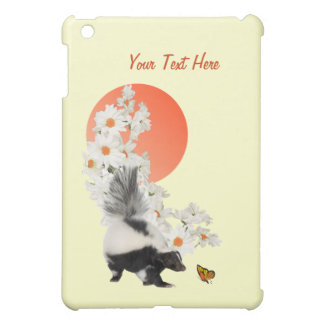 Skunks Need Time To Smell Flowers Too! iPad Mini Cover