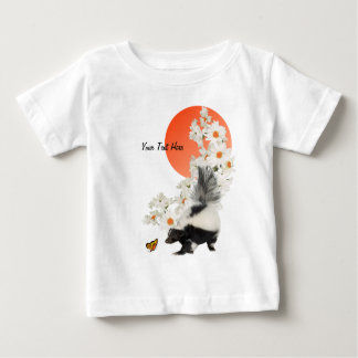 Skunks Need Time To Smell Flowers Too! T-shirt