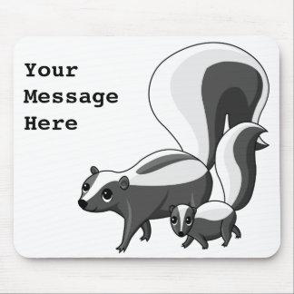 skunks_together, YourMessageHere Tapete De Ratones