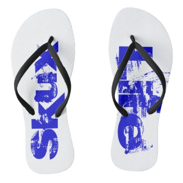 Beach Themed Skux Life Surf Flops Flip Flops