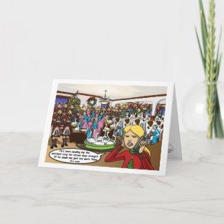 Skuzzo 12 Days of Christmas Card card