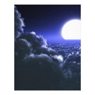 sky-298746 sky sun moon clouds atmosphere solar  F Letterhead