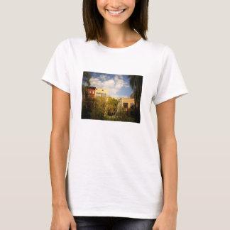 Sky Above a Garden in Alphabet City, East Village T-Shirt