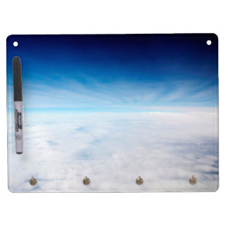 Sky Above The Clouds Dry Erase Board With Keychain Holder