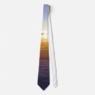 Sky above the clouds neck tie
