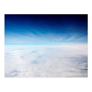 Sky Above The Clouds Postcard