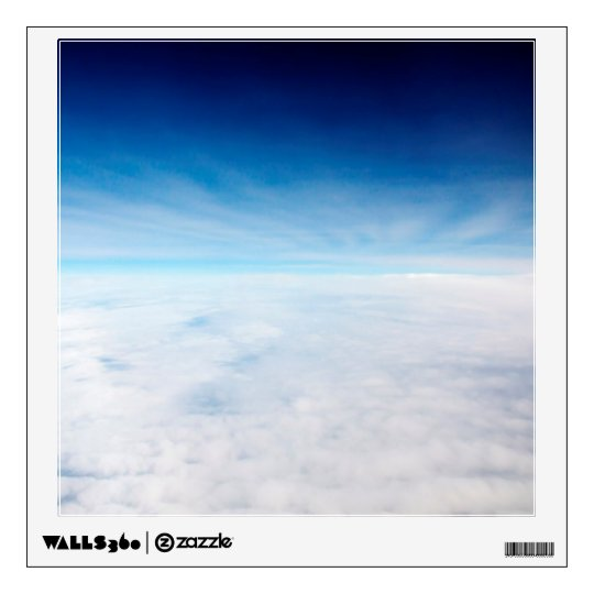 Sky Above The Clouds Wall Sticker