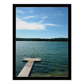 Sky above the Lake Poster