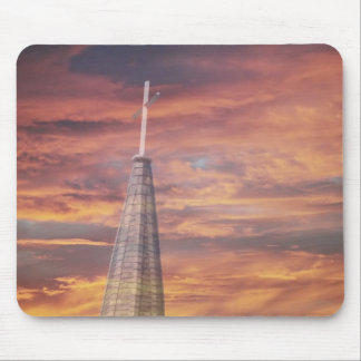 Sky and Chuch Mouse Pad