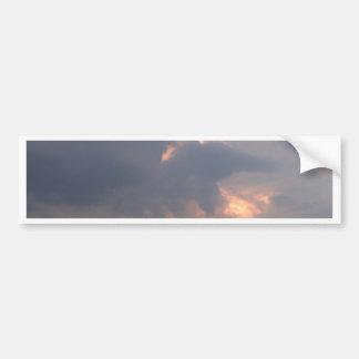 sky  and  cloud bumper sticker