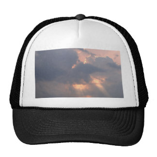 sky  and  cloud mesh hat