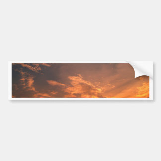 sky  and  cloud  /  sunset bumper sticker