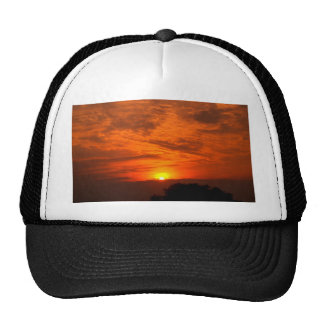 sky  and  cloud  /  sunset trucker hat