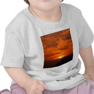 sky  and  cloud  /  sunset t shirt
