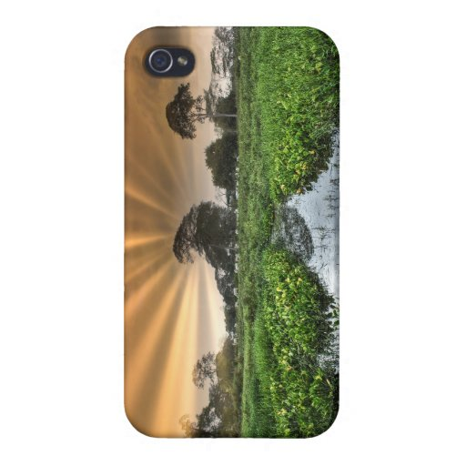 sky and clouds and landscape case for iPhone 4