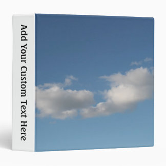 Sky and Clouds. Binder