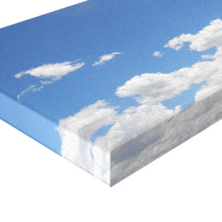 Sky and Clouds Canvas Print