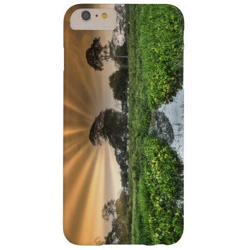 sky and clouds in the countryside barely there iPhone 6 plus case