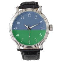 Sky and Lawn Wrist Watch