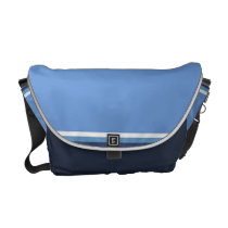 Sky and Sea Messenger Bag