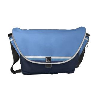 Sky and Sea Messenger Bag