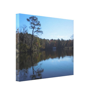 Sky and Water Reflections - Beaufort County, NC Canvas Print